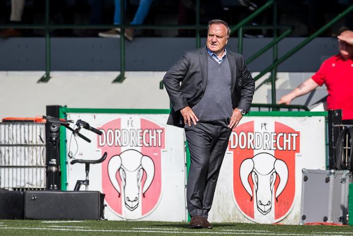 Dick Advocaat won met Sparta met 1-2 van FC Dordrecht.