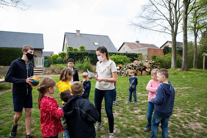 Onder meer aan het speeltuintje van de  Krinkelsgracht konden kinderen terecht.