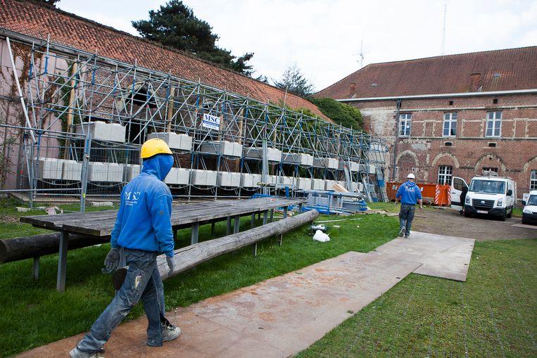 Er is weer  toekomst voor de muur van 1 miljoen in Ekkergem.