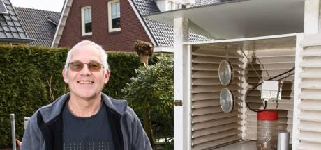 Weerman Freddie uit Holten is slechts de boodschapper: 'Voorjaarstemperaturen van korte duur'