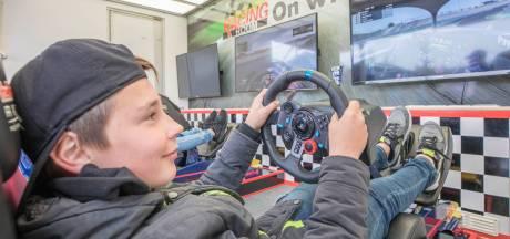 Reimerswaalse jeugd racet virtueel op Zandvoort