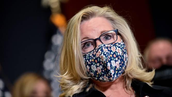 Machtsstrijd bij Republikeinen: druk op Trump-critica Liz Cheney neemt toe