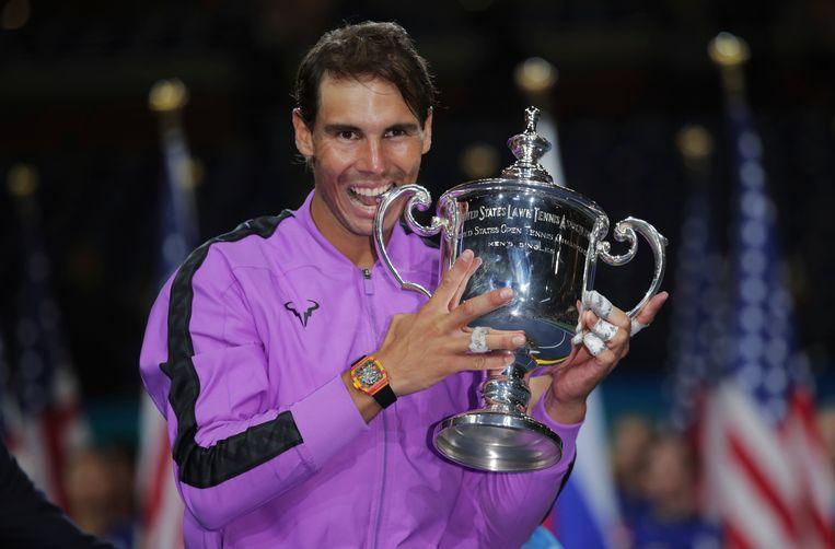 Nadal zal zijn titel op de US Open niet verdedigen.