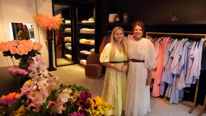 """Naomi opent kledingzaak met schoonmama Isabelle: """"Wij kunnen het héél goed vinden"""""""