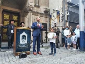 """Joodse verenigingen bedanken militairen voor hun jarenlange inzet: """"Dankzij jullie gingen onze kinderen veilig naar school"""""""