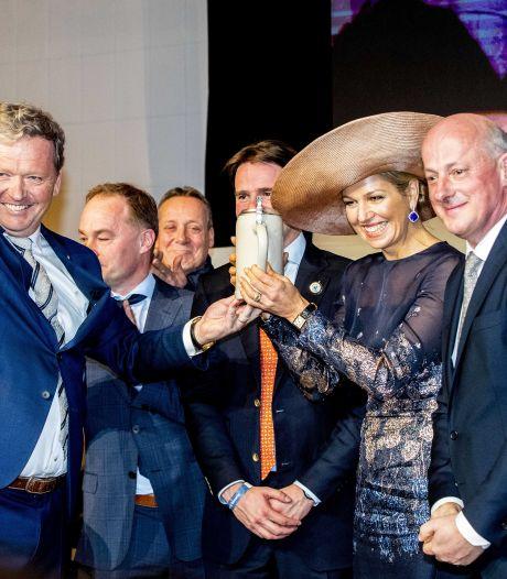 Kraantje van jubileumvat Bavaria gestolen in Aarle-Rixtel