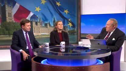 """Brexit-interview gaat viraal nadat presentator minister dertien keer dezelfde vraag moet stellen: """"Heb jij enig idee waar je het over hebt?"""""""