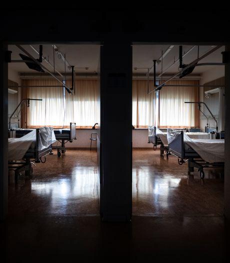 Het is onheilspellend op de verlaten verpleegafdelingen van het Máxima MC in Eindhoven