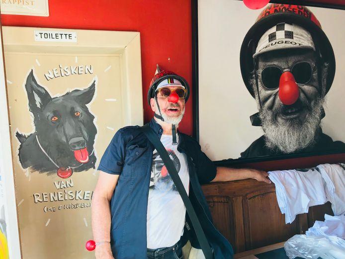 René Souvagie maakte van café Soleil het Rode Neuzen Café