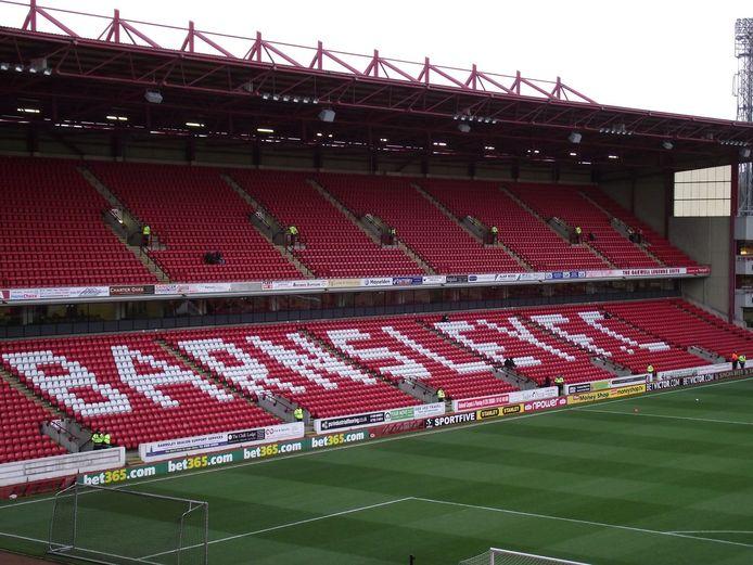 Het stadion van Barnsley FC.