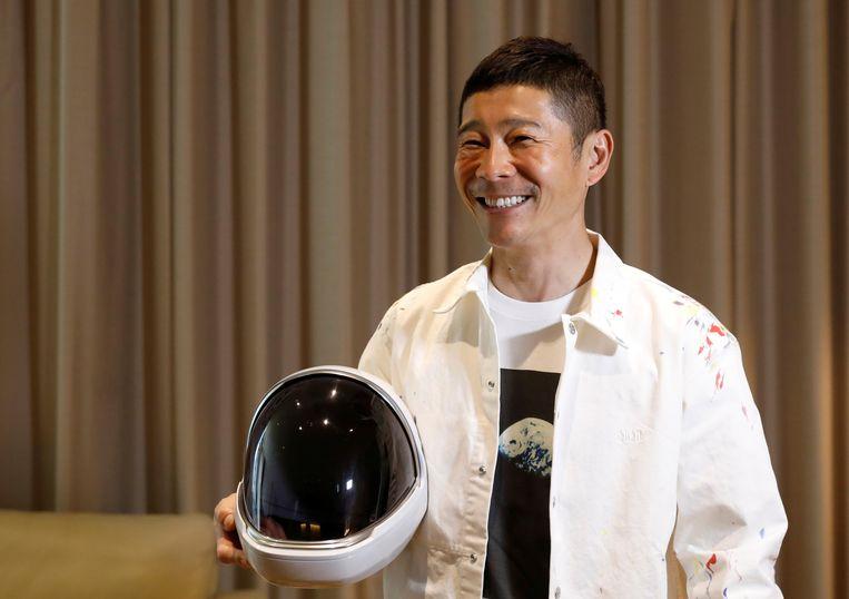 De miljardair Yusaku Maezawa  Beeld REUTERS