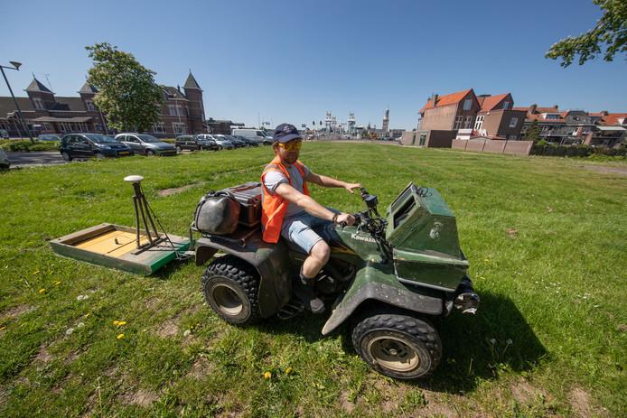 Het gebiedje Bolwerk Buitenwacht. De herinrichting wordt mogelijk uitgesteld omdat de gemeente er geen geld voor heeft.