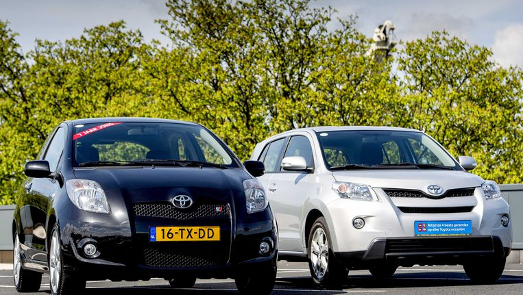 Toyota roept 17.000 auto's terug Beeld ANP