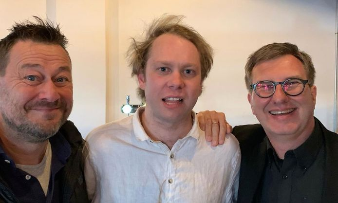 Bart De Pauw, Rik Verheye en Jan Verheyen.