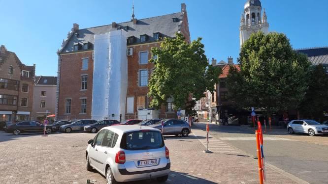 Van 'Possozparking' naar belevingsplein. Halle kiest voor kleinere achterbouw Historisch Stadhuis en dat heeft gevolgen voor de hele buurt