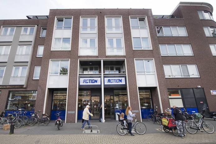 De Action-winkel aan de Graafseweg in Nijmegen. Bert Beelen