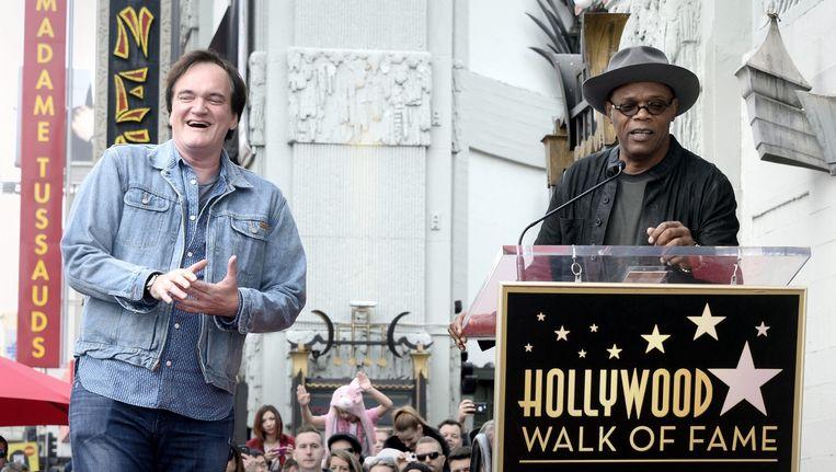 Zijn vriend Samuel J. Jackson sprak de regisseur toe Beeld anp