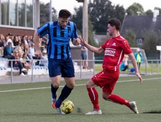 """Drongen leider in eerste provinciale dankzij twee goals van verdediger Gaëton Vanpoucke: """"Dit is niet onze ambitie, maar het doet wel deugd"""""""