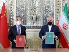 L'Iran et la Chine signent un accord de coopération de 25 ans