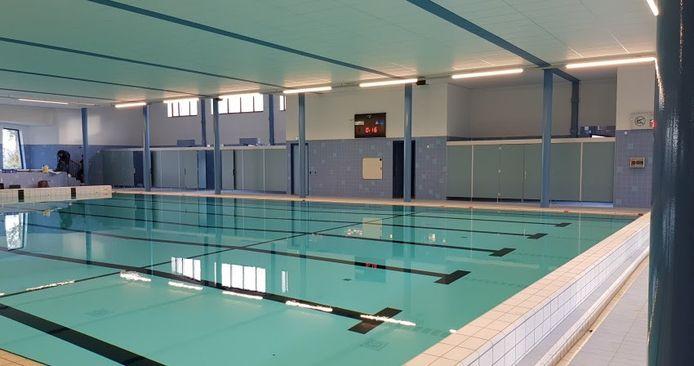 Het zwembad in Sporthuis Abcoude