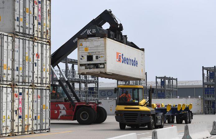 Barnier waarschuwde in juli al dat de EU geen compromissen sluit over het Britse eisenpakket voor vrachtwagenchauffeurs.