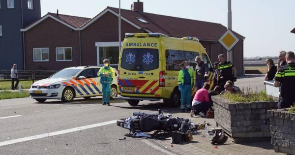 Motorrijder overleden na aanrijding met auto bij Halle.