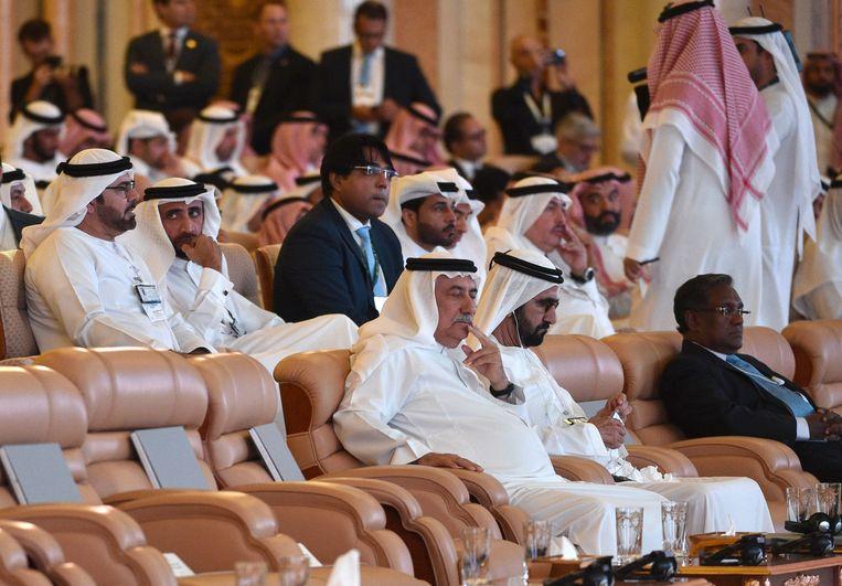 Het Future Investment Initiative start in mineur. Beeld AFP