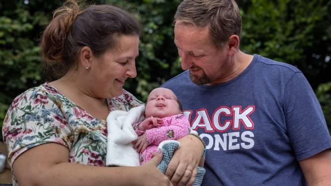 Makkelijk, superlief en lekker rustig: dat is baby Johni, de negende telg van Een huis vol-familie uit Tollebeek