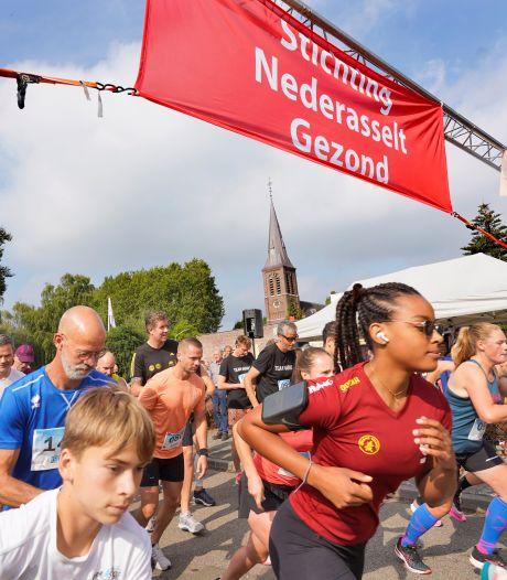 Eindelijk weer een evenement, eindelijk weer een race: Nederasselt loopt uit voor Uiterwaarden Run