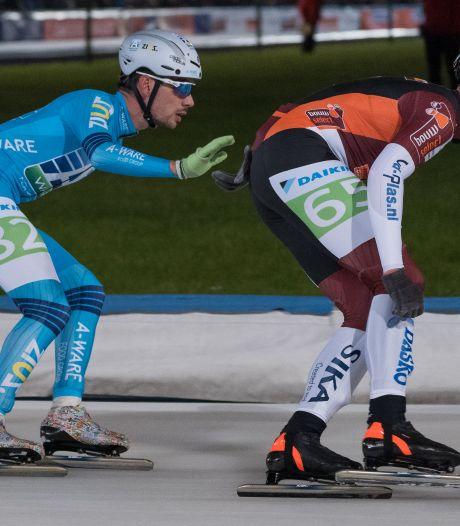 Herstart marathonschaatsen ook voor Tubbergenaar Bruggink onwennig: 'Als jonge kalveren weer de wei in'