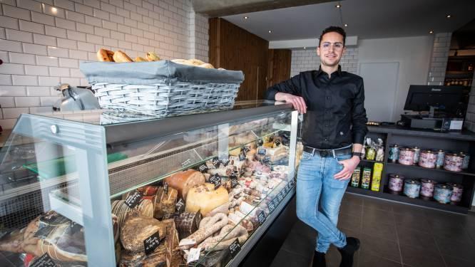 """Leandro (26) opent gloednieuwe Italiaanse delicatessenwinkel in Hasselt: """"Ik wil de Hasselaren laten meegenieten van onze cultuur"""""""