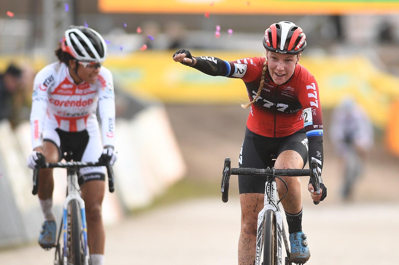 Worst verslaat Alavarado aan de finish in Zonhoven.