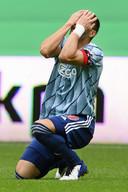 Dusan Tadic treurt tegen FC Groningen.