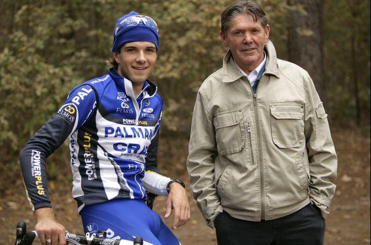 Eric De Vlaeminck met Niels Albert. Beeld PHOTO_NEWS