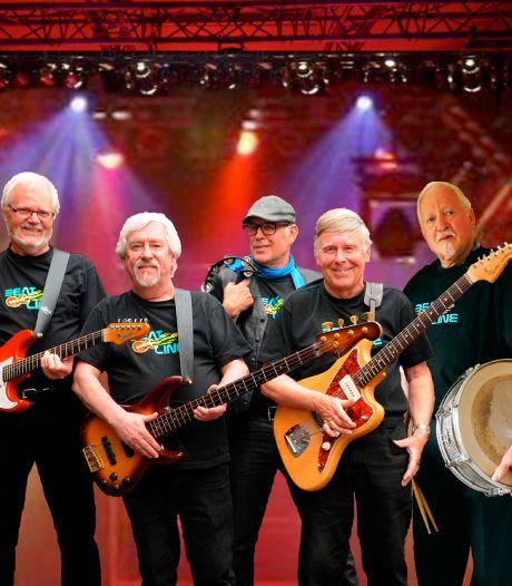 Achterhoekse band Beatline staat weer op het podium: 'We spelen muziek uit de tijd van de nozemrellen'
