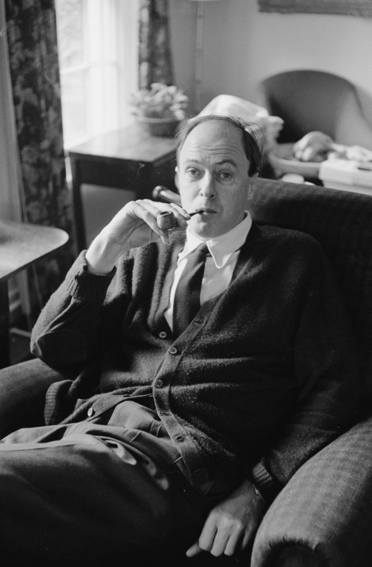 Roald Dahl Beeld The LIFE Picture Collection via