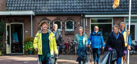 Gorssel gaat schoon de maand uit dankzij prikkers: 'Dit is blijkbaar de plek om luiers weg te gooien'