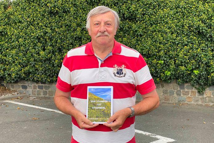 Arnold De Koker uit Lede heeft met 'Van stamper tot stuifmeel' zijn achtste boekje vol ludieke taalsprokkels klaar.