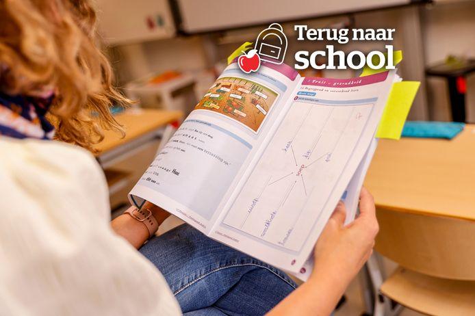 Karen Van de Cruys dook in de boeken van haar kinderen en telde alle taaluitingen op woord-, zins- en tekstniveau.