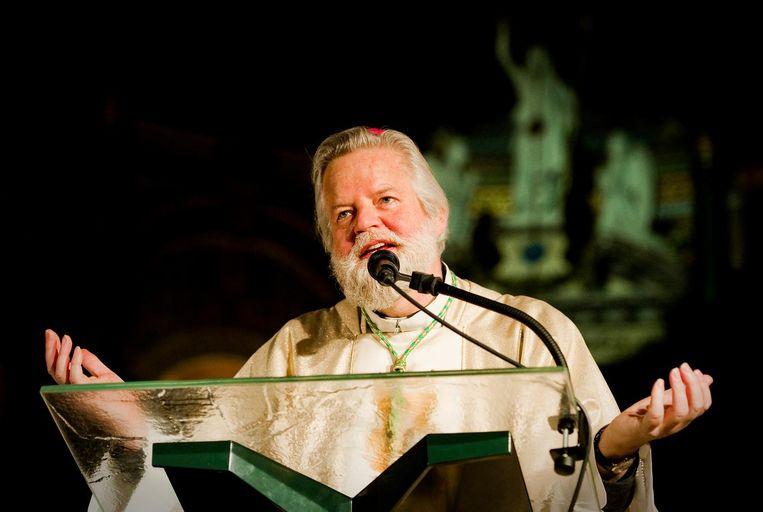 Bisschop Jos Punt. Beeld anp