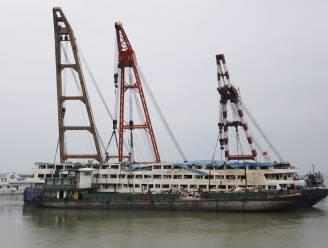 Meer dan 400 doden bij scheepsramp in China