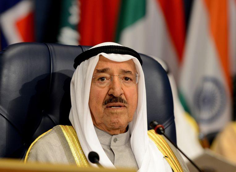 Sabah Al-Ahmad Al-Jaber Al-Sabah overleed op 91-jarige leeftijd. Beeld EPA