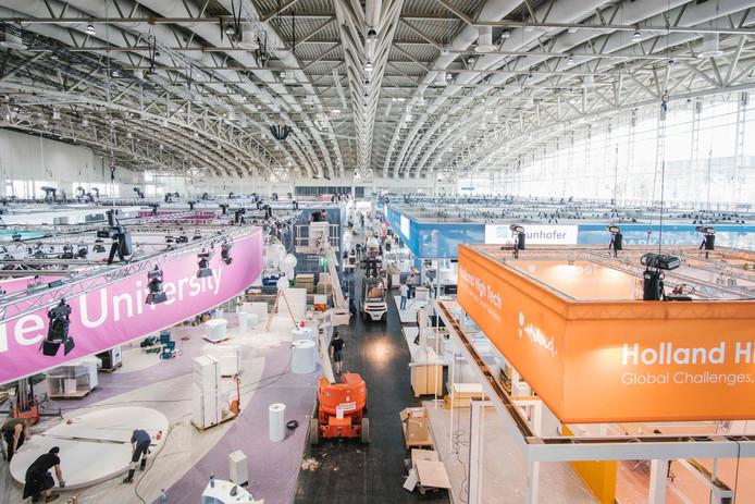 Hannover Messe is met 6000 bedrijven uit 70 landen de grootste innovatie- en technologiebeurs ter wereld.