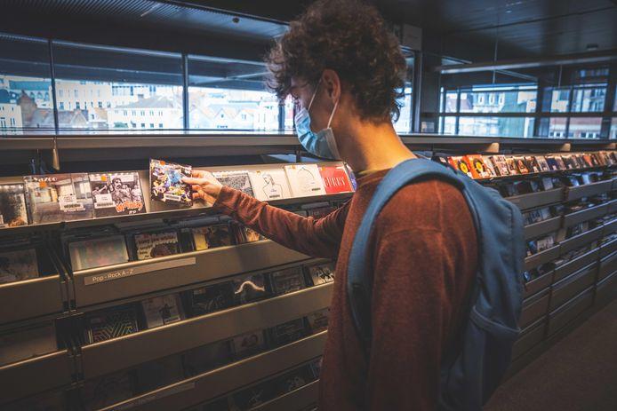 Net voor de coronapandemie werden er maandelijks nog zo'n 10.000 cd's uitgeleend.