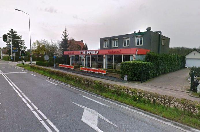 Wegrestaurant 't Vliegveld in Rijen.