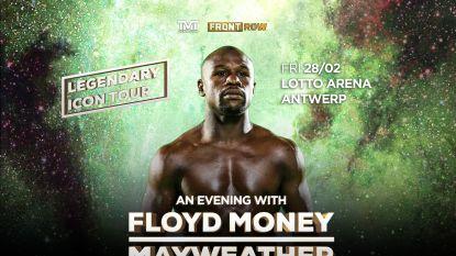 Unieke kans voor de boksfans: Floyd 'Money' Mayweather komt op 28 februari naar de Lotto Arena