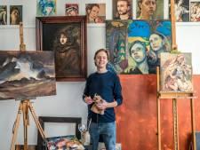 Jelle uit Brummen mocht Freek Vonk portretteren voor Sterren op het Doek: 'Hij kon verrassend goed stilzitten'