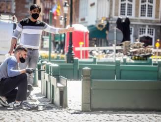 """Brugs burgemeester Dirk De fauw over eerste terrasjesweekend: """"We willen toestanden zoals in Brussel vermijden"""""""