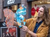 Kunstzinnige vlinders pimpen Roggenstraat in Zwolle