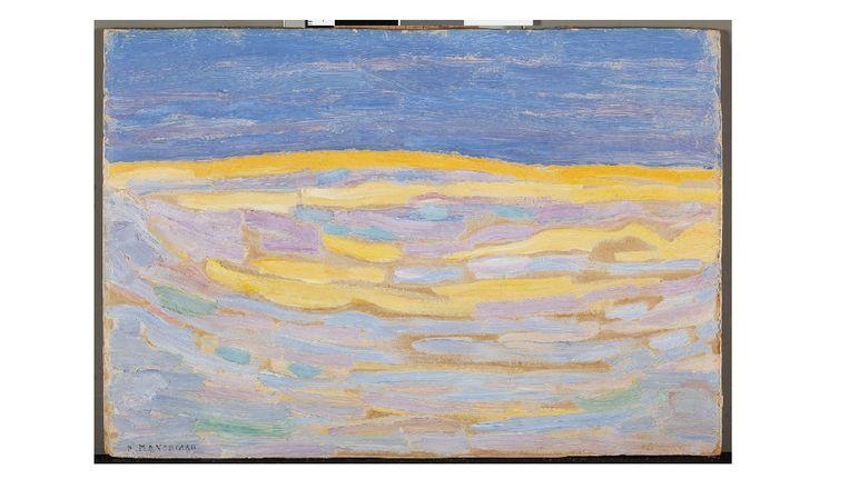 Piet Mondriaan -'Duin I' (1909) Beeld GEMEENTEMUSEUM DEN HAAG